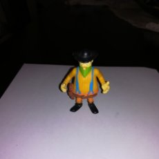 Figuras de Goma y PVC: FIGURA DE PVC BANDIDO PERSONAJE DE LUCKY LUKE MADE IN SPAIN. Lote 146793404