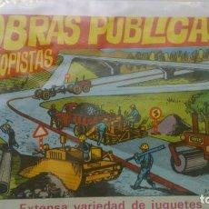 Figuras de Goma y PVC: MONTAPLEX - OBRAS PÚBLICAS - SOBRE VACÍO - SERIE NUMERADA. Lote 146803186