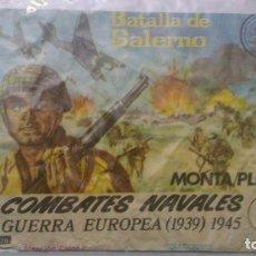 Figuras de Goma y PVC: MONTAPLEX - COMBATES NAVALES - SOBRE VACÍO - SERIE NUMERADA. Lote 146804490