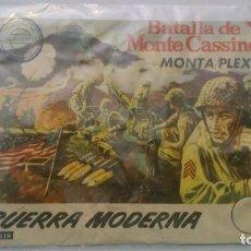 Figuras de Goma y PVC: MONTAPLEX - GUERRA MODERNA - BATALLA DE MONTE CASSINO - SOBRE VACÍO - SERIE NUMERADA. Lote 146804822