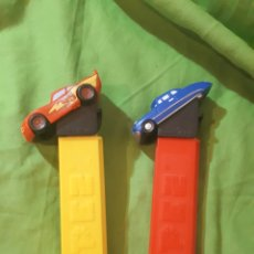 Dispensador Pez: LOTE 2 DISPENSADORES PEZ CARS. Lote 146809608