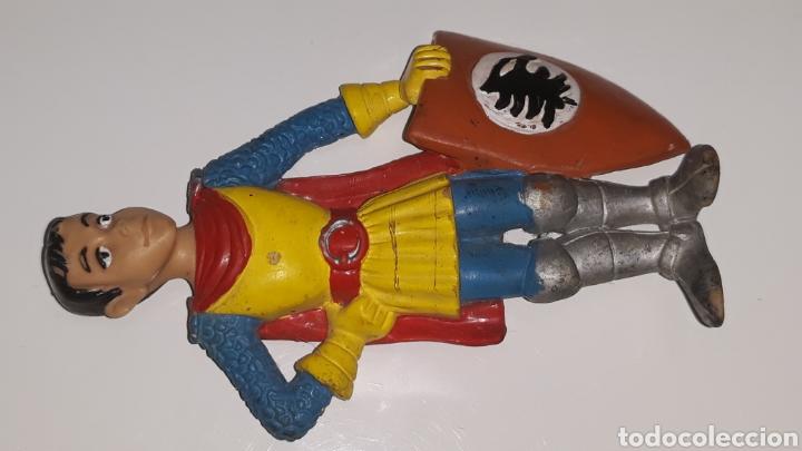 Figuras de Goma y PVC: COMICS SPAIN : ANTIGUA FIGURA DE GOMA DRAGONES Y MAZMORRAS ERIK AÑOS 80 - Foto 4 - 146828154