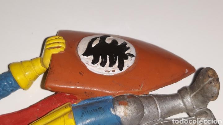 Figuras de Goma y PVC: COMICS SPAIN : ANTIGUA FIGURA DE GOMA DRAGONES Y MAZMORRAS ERIK AÑOS 80 - Foto 5 - 146828154