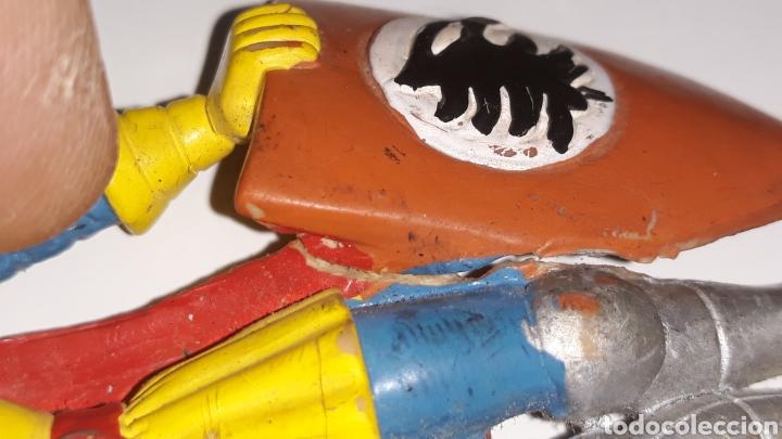 Figuras de Goma y PVC: COMICS SPAIN : ANTIGUA FIGURA DE GOMA DRAGONES Y MAZMORRAS ERIK AÑOS 80 - Foto 6 - 146828154