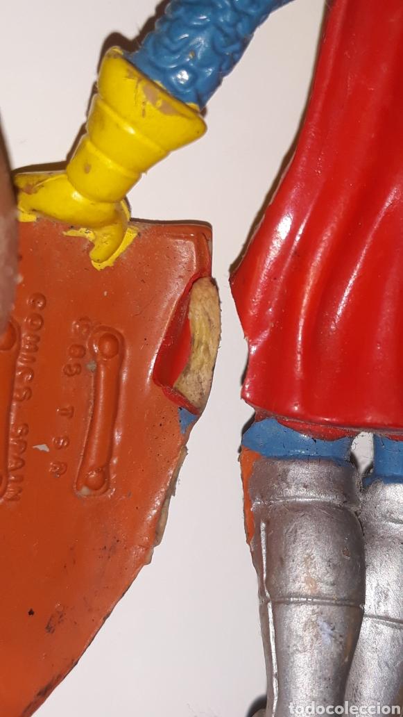 Figuras de Goma y PVC: COMICS SPAIN : ANTIGUA FIGURA DE GOMA DRAGONES Y MAZMORRAS ERIK AÑOS 80 - Foto 7 - 146828154