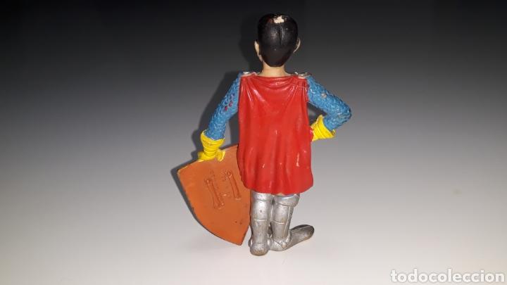 Figuras de Goma y PVC: COMICS SPAIN : ANTIGUA FIGURA DE GOMA DRAGONES Y MAZMORRAS ERIK AÑOS 80 - Foto 12 - 146828154