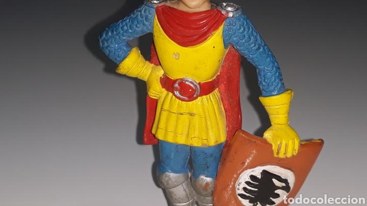 Figuras de Goma y PVC: COMICS SPAIN : ANTIGUA FIGURA DE GOMA DRAGONES Y MAZMORRAS ERIK AÑOS 80 - Foto 16 - 146828154