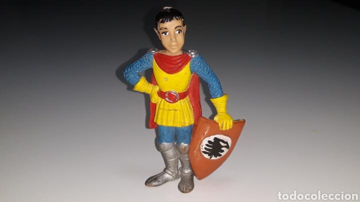Figuras de Goma y PVC: COMICS SPAIN : ANTIGUA FIGURA DE GOMA DRAGONES Y MAZMORRAS ERIK AÑOS 80 - Foto 19 - 146828154