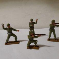 Figuras de Goma y PVC: FIGURAS SOLDADOS AMERICANOS STARLUX. Lote 146899897
