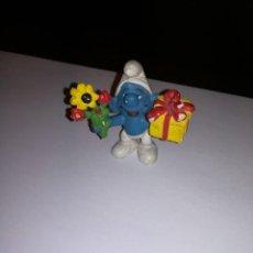 Figuras de Goma y PVC: SCHLEICH FIGURA DE PVC PEYO PITUFO SMURFS PITUFOS SMURF. Lote 146922002