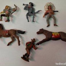 Figuras de Goma y PVC: COMANSI PLÁSTICO Y LAFREDO DE GOMA. Lote 146925794