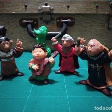 Figuras de Goma y PVC: LOTE DE 5 FIGURAS ANTIGUAS DE GOMA O PVC. LOS AURONES. YOLANDA. AÑOS 80. Lote 146940594