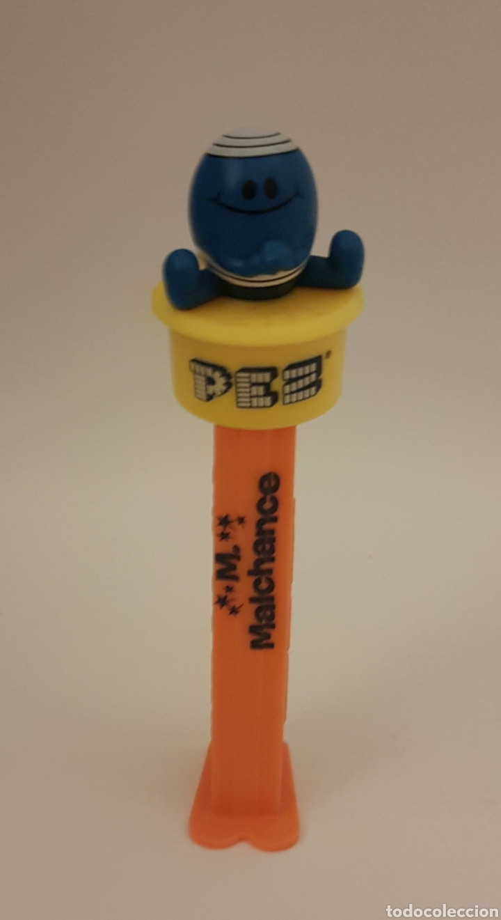 DISPENSADOR PEZ. COLECCIÓN MR MEN LITTLE MISS. VERSIÓN FRANCESA (Juguetes - Figuras de Gomas y Pvc - Dispensador Pez)