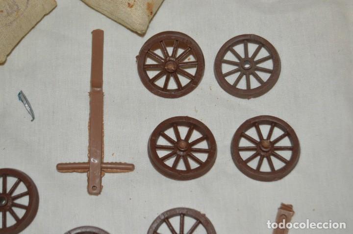 Figuras de Goma y PVC: LOTE DE COMANSI - SOLDADOS FEDERALES - CONFEDERADOS - 7º CABALLERIA - TICO - 1ª SERIE - ENVÍO 24H - Foto 5 - 147062778