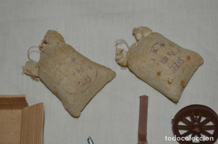 Figuras de Goma y PVC: LOTE DE COMANSI - SOLDADOS FEDERALES - CONFEDERADOS - 7º CABALLERIA - TICO - 1ª SERIE - ENVÍO 24H - Foto 6 - 147062778