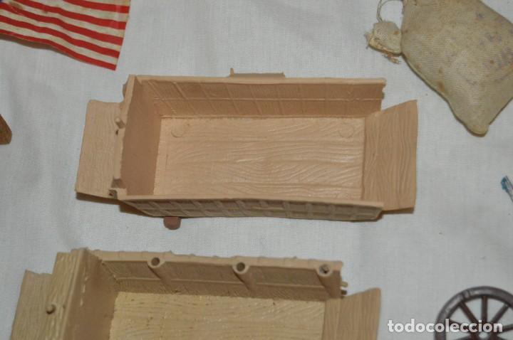 Figuras de Goma y PVC: LOTE DE COMANSI - SOLDADOS FEDERALES - CONFEDERADOS - 7º CABALLERIA - TICO - 1ª SERIE - ENVÍO 24H - Foto 7 - 147062778