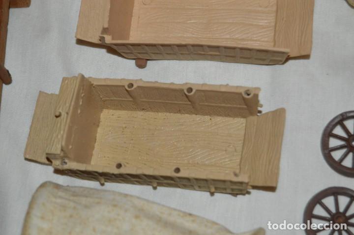 Figuras de Goma y PVC: LOTE DE COMANSI - SOLDADOS FEDERALES - CONFEDERADOS - 7º CABALLERIA - TICO - 1ª SERIE - ENVÍO 24H - Foto 8 - 147062778