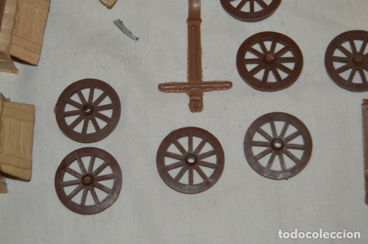 Figuras de Goma y PVC: LOTE DE COMANSI - SOLDADOS FEDERALES - CONFEDERADOS - 7º CABALLERIA - TICO - 1ª SERIE - ENVÍO 24H - Foto 13 - 147062778