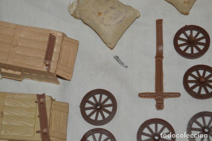 Figuras de Goma y PVC: LOTE DE COMANSI - SOLDADOS FEDERALES - CONFEDERADOS - 7º CABALLERIA - TICO - 1ª SERIE - ENVÍO 24H - Foto 16 - 147062778