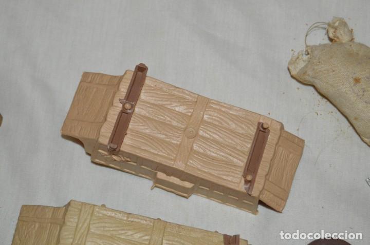 Figuras de Goma y PVC: LOTE DE COMANSI - SOLDADOS FEDERALES - CONFEDERADOS - 7º CABALLERIA - TICO - 1ª SERIE - ENVÍO 24H - Foto 18 - 147062778