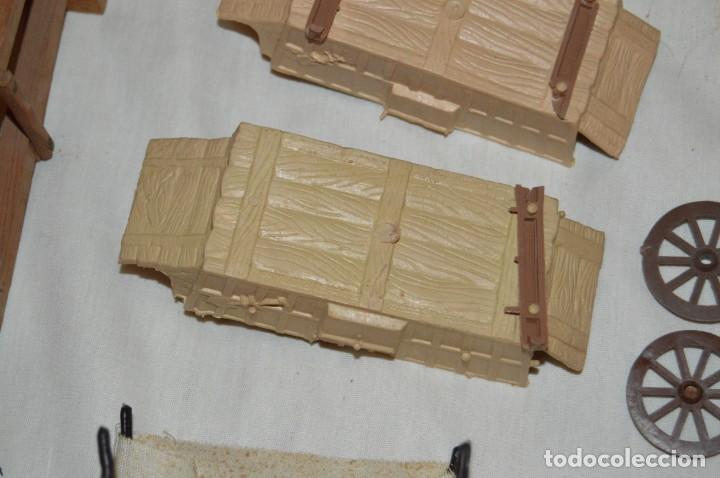 Figuras de Goma y PVC: LOTE DE COMANSI - SOLDADOS FEDERALES - CONFEDERADOS - 7º CABALLERIA - TICO - 1ª SERIE - ENVÍO 24H - Foto 19 - 147062778