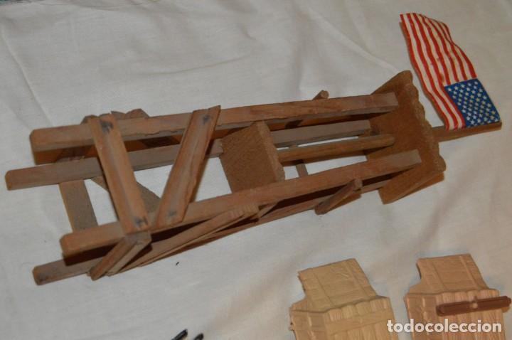 Figuras de Goma y PVC: LOTE DE COMANSI - SOLDADOS FEDERALES - CONFEDERADOS - 7º CABALLERIA - TICO - 1ª SERIE - ENVÍO 24H - Foto 21 - 147062778