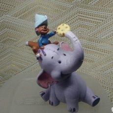 Figuras de Goma y PVC: FIGURA PVC ELEFANTE DUMBO MARCA BULLYLAND. Lote 147094280