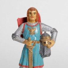 Figuras de Goma y PVC: FIGURA RICARDO CORAZÓN DE LEÓN. POSIBLEMENTE DE COMANSI O PECH. AÑOS 60. Lote 147174658