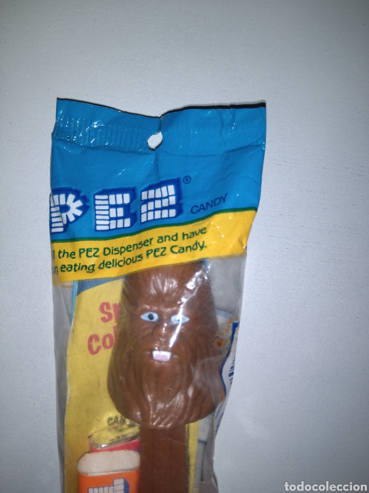 Dispensador Pez: Dispensador Pez en blister con las chuches - Star Wars - Chewbacca - Chewaka - Nuevo - Foto 3 - 147213846