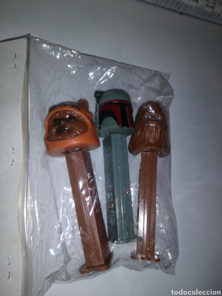Dispensador Pez: Dispensadores Pez - Star Wars - Chewaka + Stormtrooper(Guerrero imperialista) + Ewoks - Foto 2 - 147223434
