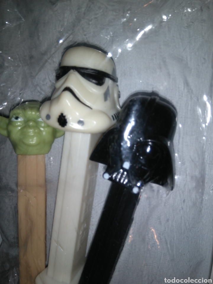 Dispensador Pez: Dispensadores Pez - Star Wars - Darth Vader + Yoda + Soldado imperialista - Foto 3 - 147224200