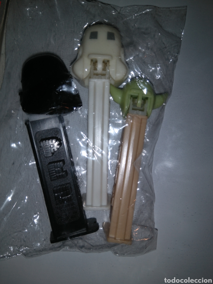 Dispensador Pez: Dispensadores Pez - Star Wars - Darth Vader + Yoda + Soldado imperialista - Foto 4 - 147224200