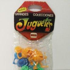 Figuras de Goma y PVC: BLISTER GRANDES COLECCIONES NOVOLINEA RUPERTAS 123. Lote 147245994