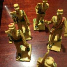 Figuras de Goma y PVC: REAMSA SOLDADOS REGULARES. Lote 147249469