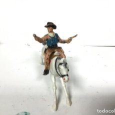 Figuras de Goma y PVC: FIGURA VAQUERO REAMSA OESTE COWBOY WESTERN . Lote 147263550