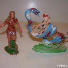 Figuras de Goma y PVC: ANTIGUAS Y RARAS FIGURAS.. Lote 147324102