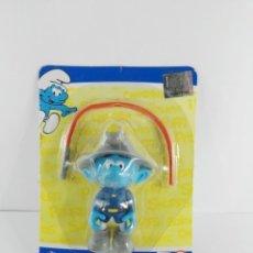 Figuras de Goma y PVC: PITUFO BOMBERO ALTAYA. Lote 147351574