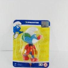 Figuras de Goma y PVC: PITUFO PAYASO ALTAYA. Lote 147351646