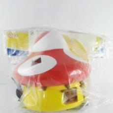 Figuras de Goma y PVC: CASA PITUFOS AMARILLA ALTAYA. Lote 147351850