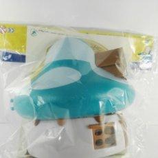 Figuras de Goma y PVC: CASA PITUFOS BLANCA ALTAYA. Lote 147351890