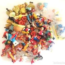 Figuras de Goma y PVC: LOTE DE 60 FIGURAS DISNEY, DRAGON BALL , PITUFOS, WINNIE THE POO, PRINCESAS, . Lote 147370942