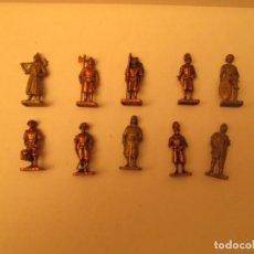 Figuras de Goma y PVC: FIGURAS DE METAL LOTE . Lote 147425098