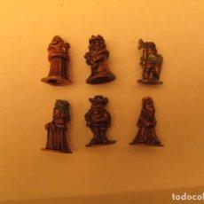 Figuras de Goma y PVC: FIGURAS DE METAL AJEDREZ. Lote 147425170