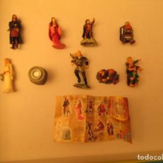 Figuras de Goma y PVC: KINDER SERIE COMPLETA EL SEÑOR DE LOS ANILLOS. Lote 147427546