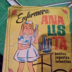 Figuras de Goma y PVC: ANTIGUO SOBRE, ENFERMERA ANALISTA. Lote 147569986