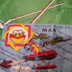 Figuras de Goma y PVC: ANTIGUO SOBRE, MISION BAJO EL MAR. Lote 147570438