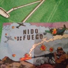 Figuras de Goma y PVC: ANTIGUO SOBRE, NIDO DE FUEGO. Lote 147571014