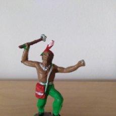 Figuras de Goma y PVC: INDIO JECSAN PVC . Lote 147582534