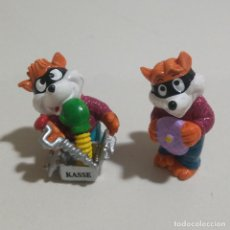 Figuras Kinder: LEER* ZORRO KINDER FOX FERRERO FIGURA MUÑECO MONOBLOC. Lote 147596706