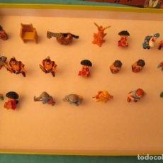 Figuras de Goma y PVC: LOTE FIGURAS MEDIEVALES. Lote 147627874